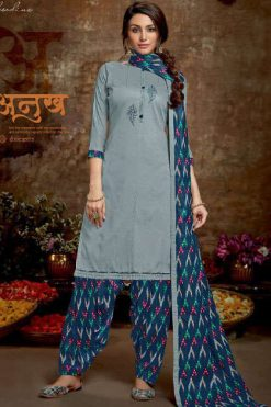 Vastu Tex Kiara Patiyala Jam Satin Collection Salwar Suit Wholesale Catalog 5 Pcs