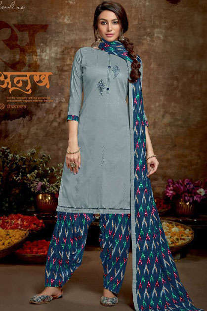 Vastu Tex Kiara Patiyala Jam Satin Collection Salwar Suit Wholesale Catalog 5 Pcs