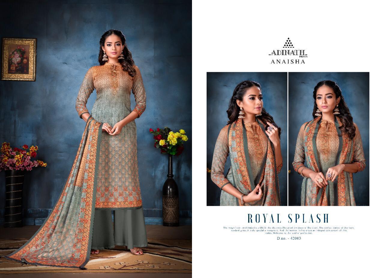 Adinath Anaisha Pashmina Salwar Suit Wholesale Catalog 8 Pcs 10 - Adinath Anaisha Pashmina Salwar Suit Wholesale Catalog 8 Pcs
