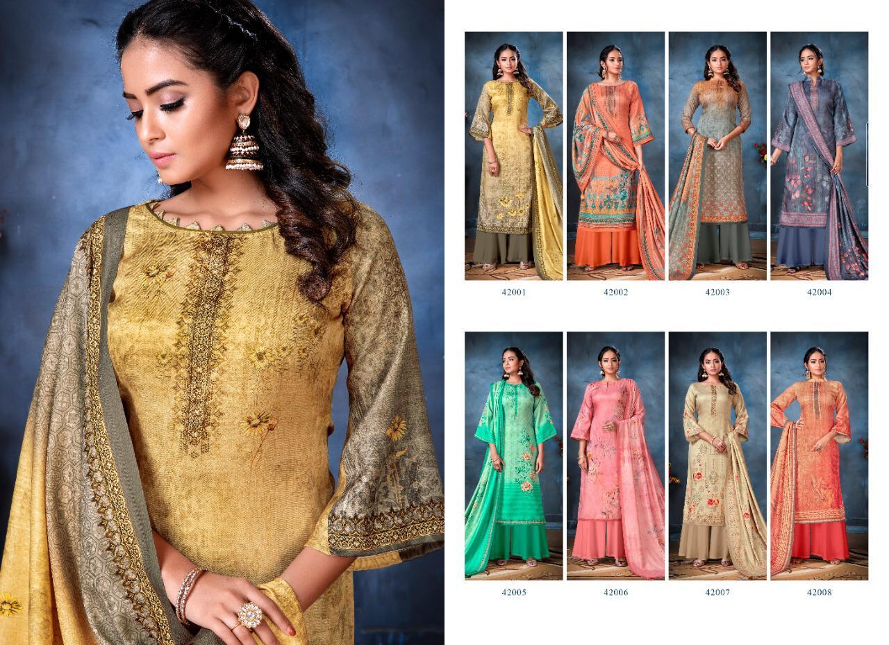 Adinath Anaisha Pashmina Salwar Suit Wholesale Catalog 8 Pcs 11 - Adinath Anaisha Pashmina Salwar Suit Wholesale Catalog 8 Pcs