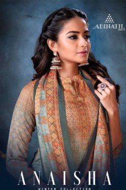 Adinath Anaisha Pashmina Salwar Suit Wholesale Catalog 8 Pcs