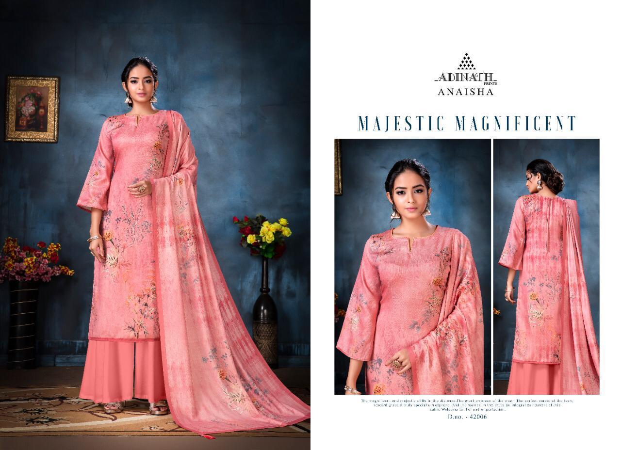 Adinath Anaisha Pashmina Salwar Suit Wholesale Catalog 8 Pcs 3 - Adinath Anaisha Pashmina Salwar Suit Wholesale Catalog 8 Pcs