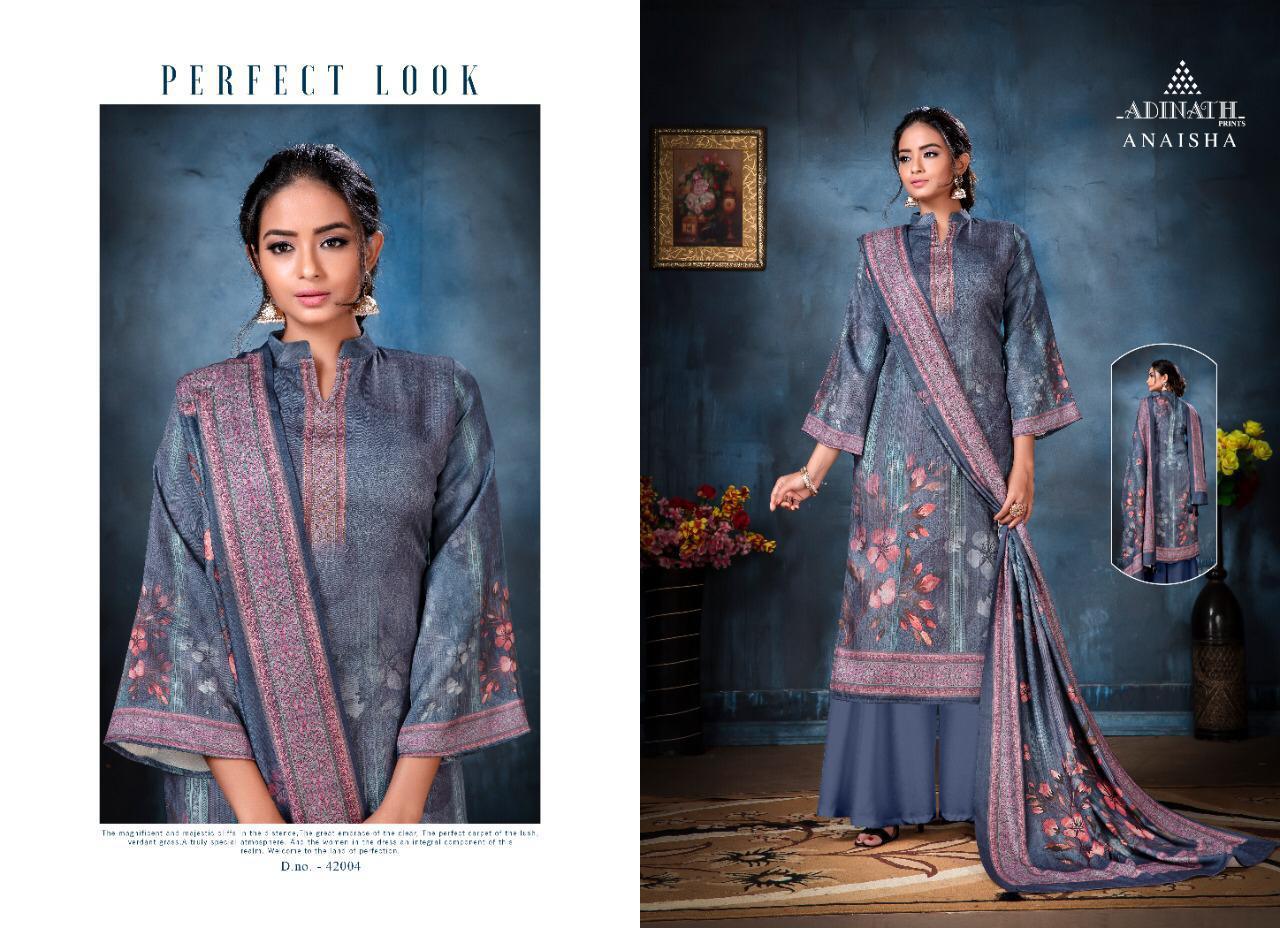 Adinath Anaisha Pashmina Salwar Suit Wholesale Catalog 8 Pcs 4 - Adinath Anaisha Pashmina Salwar Suit Wholesale Catalog 8 Pcs