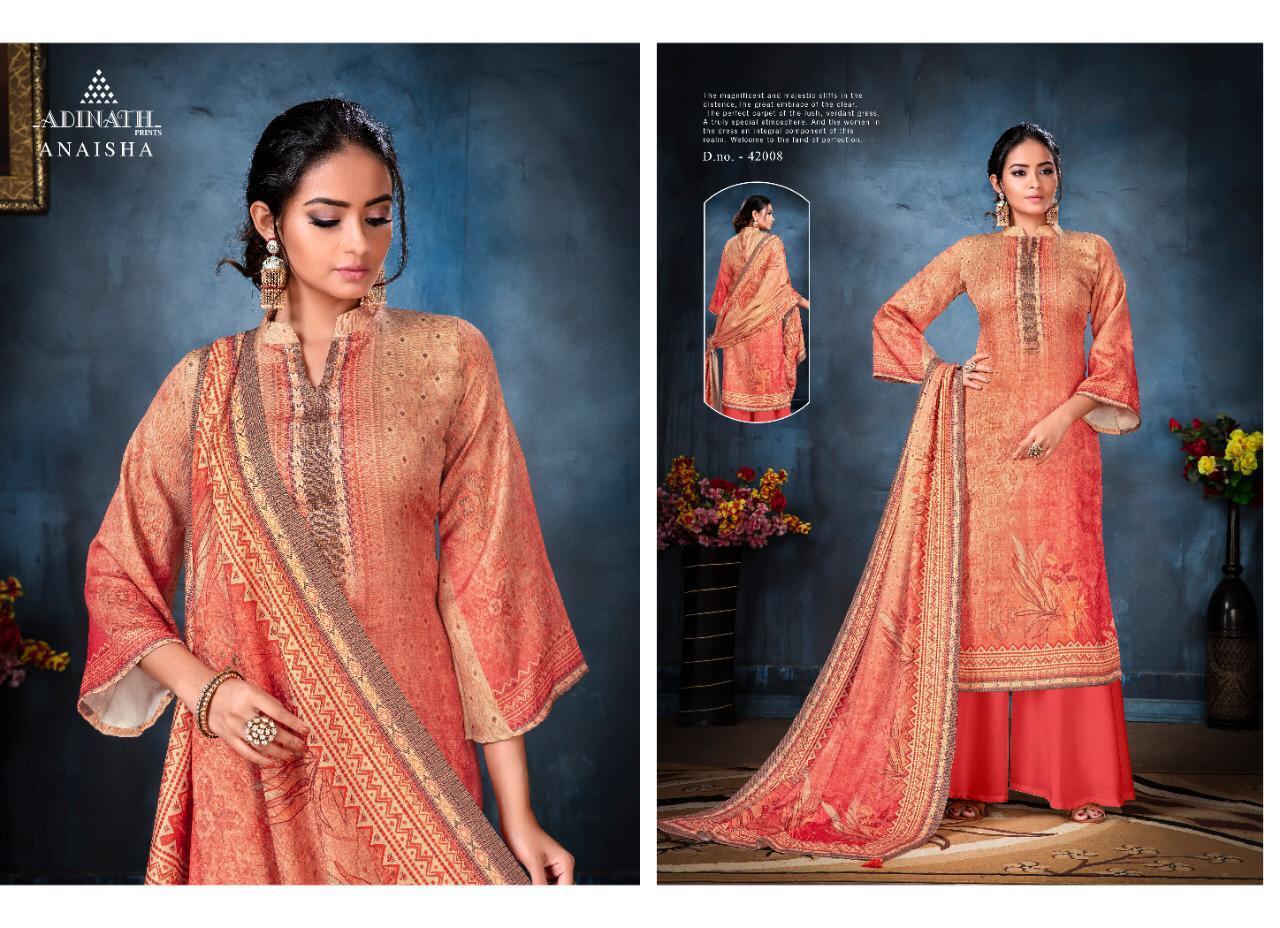 Adinath Anaisha Pashmina Salwar Suit Wholesale Catalog 8 Pcs 9 - Adinath Anaisha Pashmina Salwar Suit Wholesale Catalog 8 Pcs