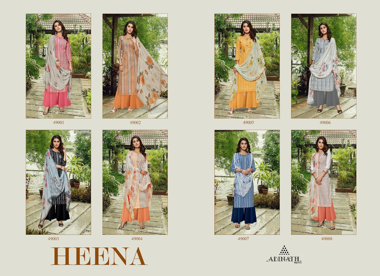 Adinath Heena Salwar Suit Wholesale Catalog 8 Pcs 12 - Adinath Heena Salwar Suit Wholesale Catalog 8 Pcs