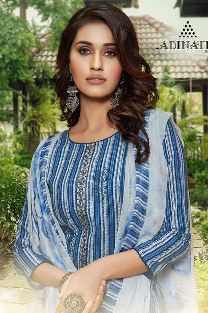 Adinath Heena Salwar Suit Wholesale Catalog 8 Pcs