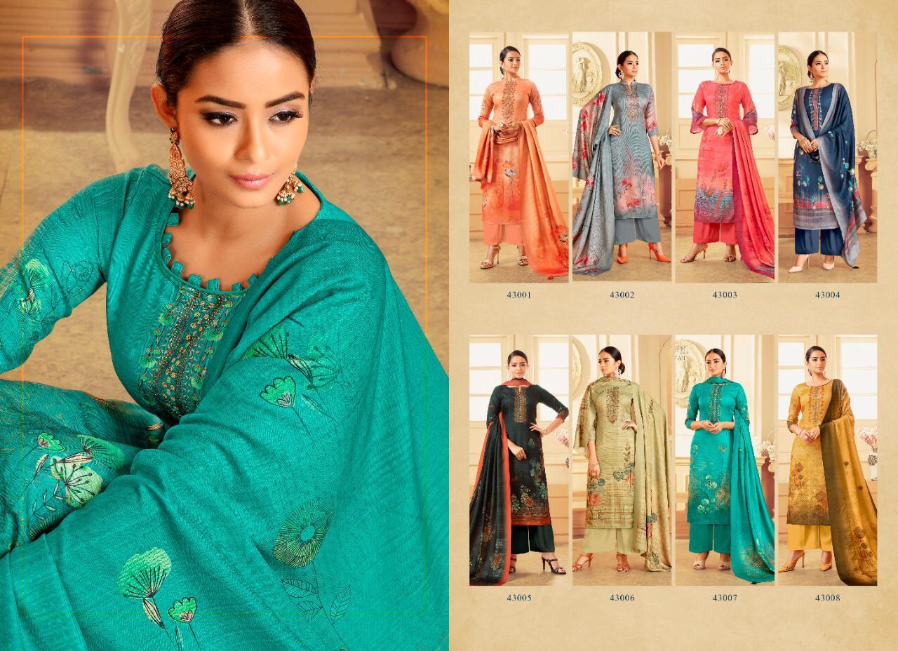 Adinath Palak Pashmina Salwar Suit Wholesale Catalog 8 Pcs 11 - Adinath Palak Pashmina Salwar Suit Wholesale Catalog 8 Pcs
