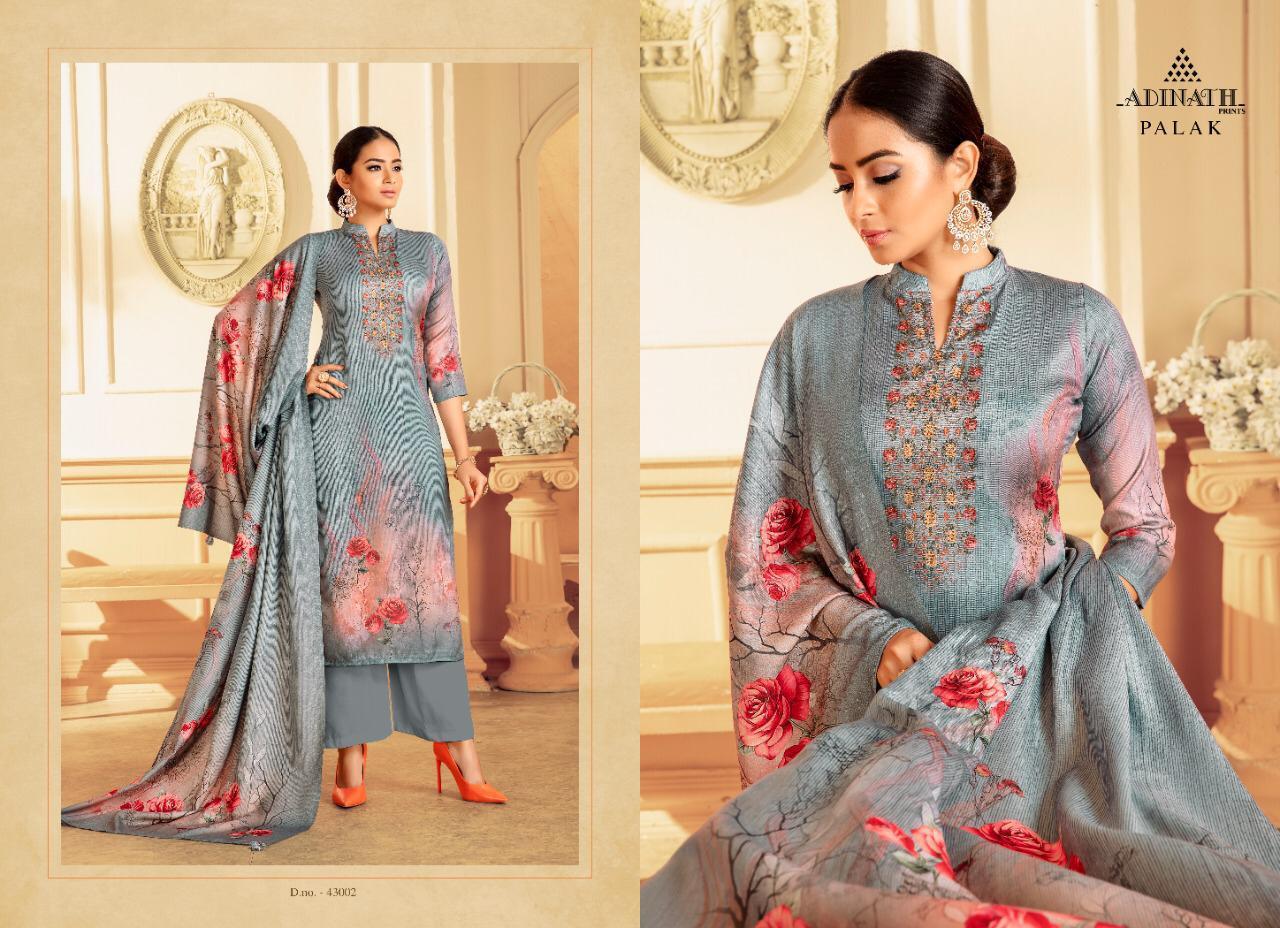 Adinath Palak Pashmina Salwar Suit Wholesale Catalog 8 Pcs 2 - Adinath Palak Pashmina Salwar Suit Wholesale Catalog 8 Pcs