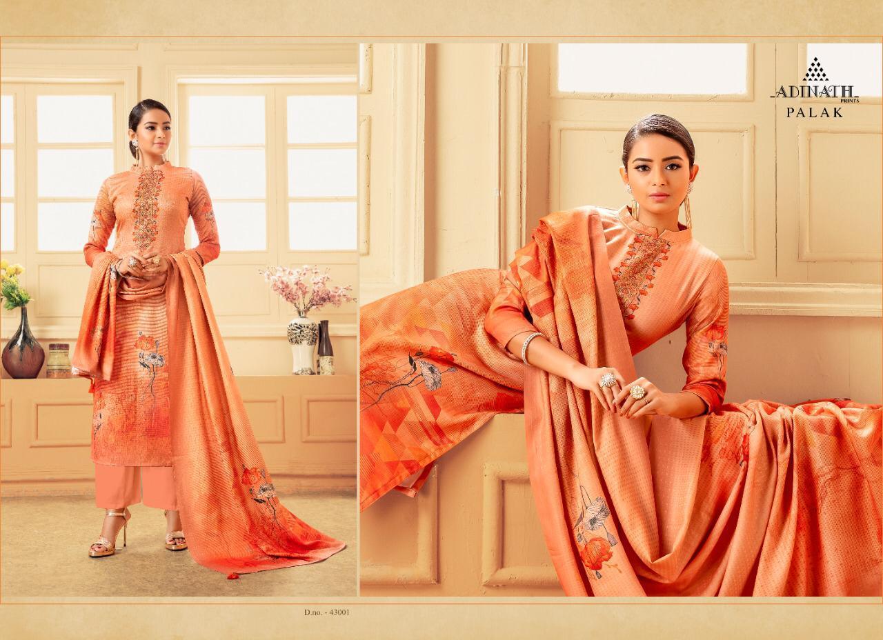 Adinath Palak Pashmina Salwar Suit Wholesale Catalog 8 Pcs 3 - Adinath Palak Pashmina Salwar Suit Wholesale Catalog 8 Pcs