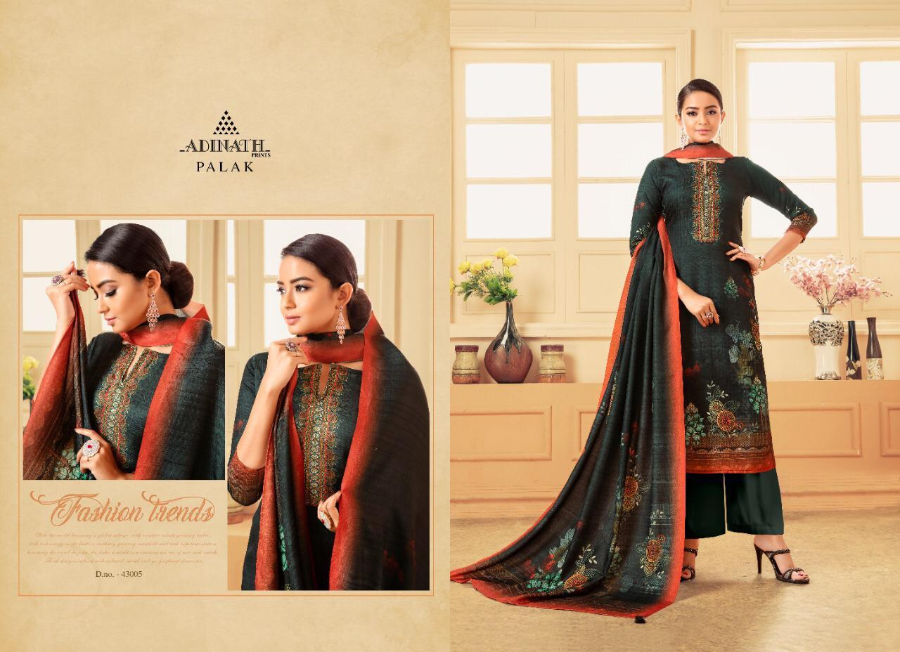 Adinath Palak Pashmina Salwar Suit Wholesale Catalog 8 Pcs 8 - Adinath Palak Pashmina Salwar Suit Wholesale Catalog 8 Pcs