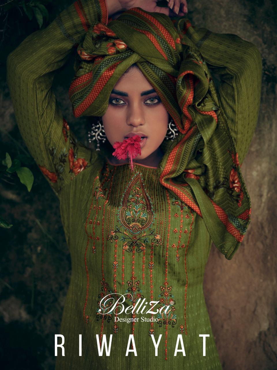 Belliza Riwayat Pashmina Salwar Suit Wholesale Catalog 10 Pcs 1 - Belliza Riwayat Pashmina Salwar Suit Wholesale Catalog 10 Pcs