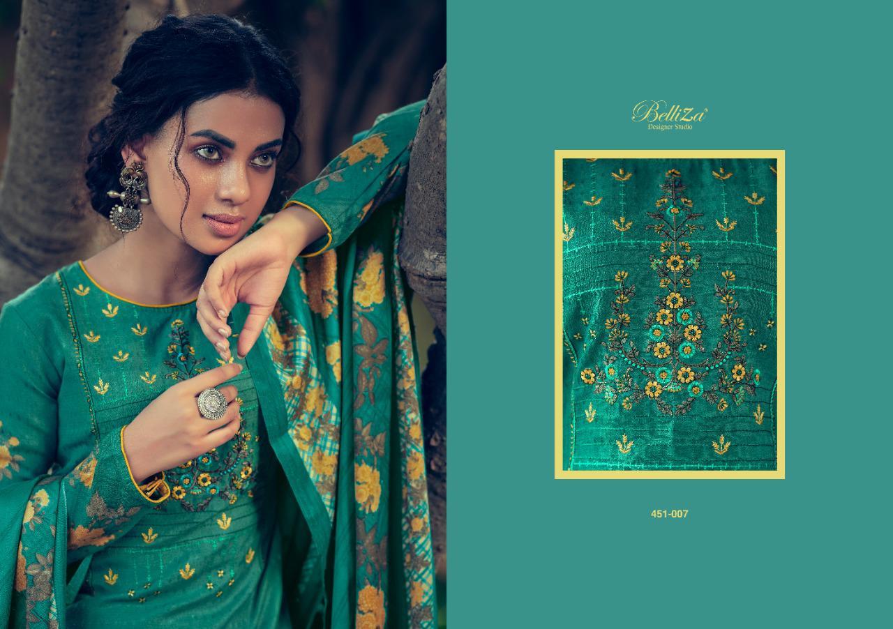 Belliza Riwayat Pashmina Salwar Suit Wholesale Catalog 10 Pcs 13 - Belliza Riwayat Pashmina Salwar Suit Wholesale Catalog 10 Pcs