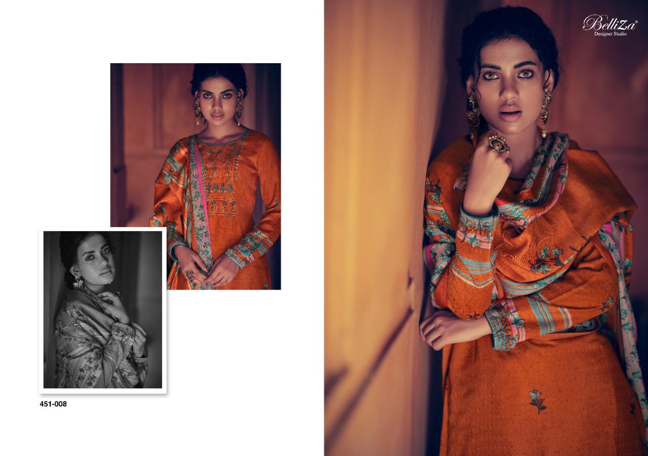 Belliza Riwayat Pashmina Salwar Suit Wholesale Catalog 10 Pcs 14 - Belliza Riwayat Pashmina Salwar Suit Wholesale Catalog 10 Pcs