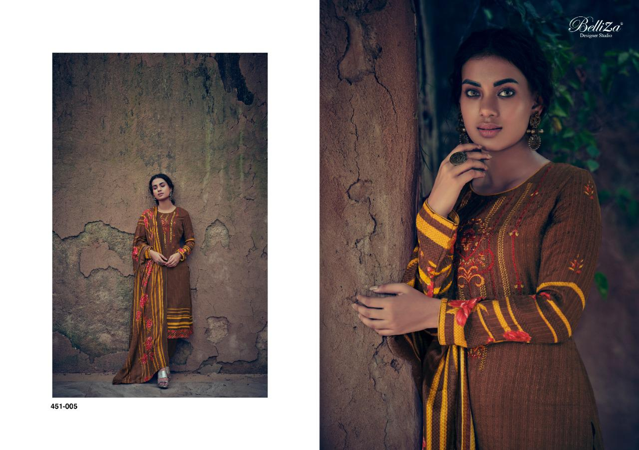 Belliza Riwayat Pashmina Salwar Suit Wholesale Catalog 10 Pcs 15 - Belliza Riwayat Pashmina Salwar Suit Wholesale Catalog 10 Pcs