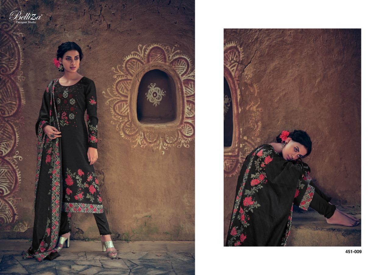 Belliza Riwayat Pashmina Salwar Suit Wholesale Catalog 10 Pcs 17 - Belliza Riwayat Pashmina Salwar Suit Wholesale Catalog 10 Pcs