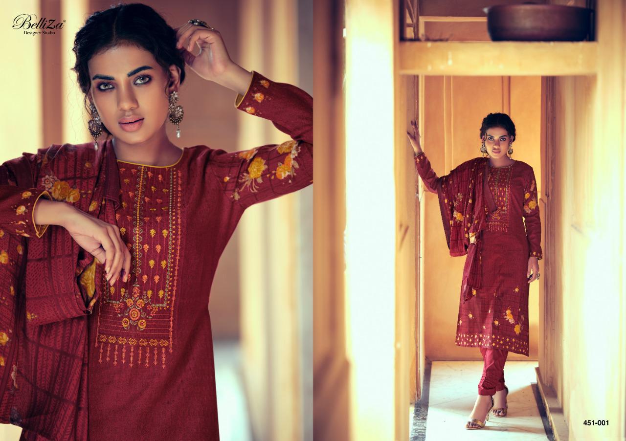 Belliza Riwayat Pashmina Salwar Suit Wholesale Catalog 10 Pcs 4 - Belliza Riwayat Pashmina Salwar Suit Wholesale Catalog 10 Pcs