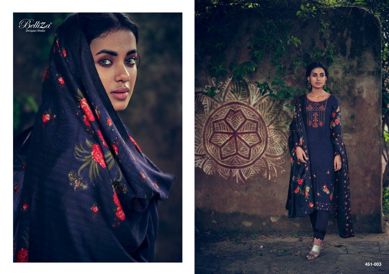 Belliza Riwayat Pashmina Salwar Suit Wholesale Catalog 10 Pcs 6 - Belliza Riwayat Pashmina Salwar Suit Wholesale Catalog 10 Pcs