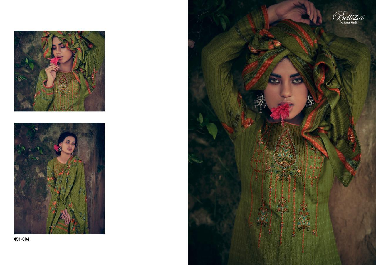 Belliza Riwayat Pashmina Salwar Suit Wholesale Catalog 10 Pcs 9 - Belliza Riwayat Pashmina Salwar Suit Wholesale Catalog 10 Pcs