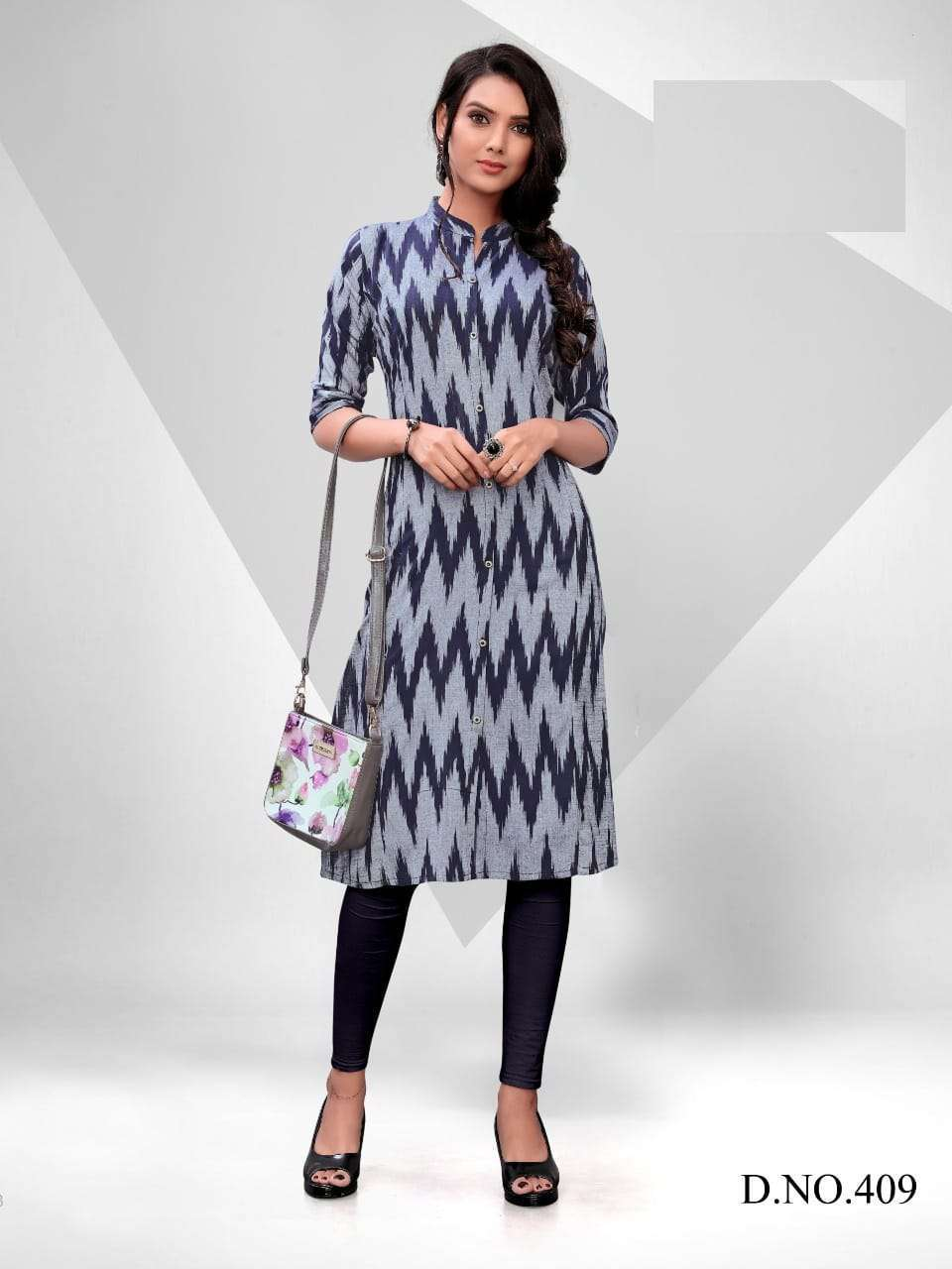 Blue Hills Ikkat World Vol 2 Kurti Wholesale Catalog 8 Pcs 5 1 - Blue Hills Ikkat World Vol 2 Kurti Wholesale Catalog 8 Pcs