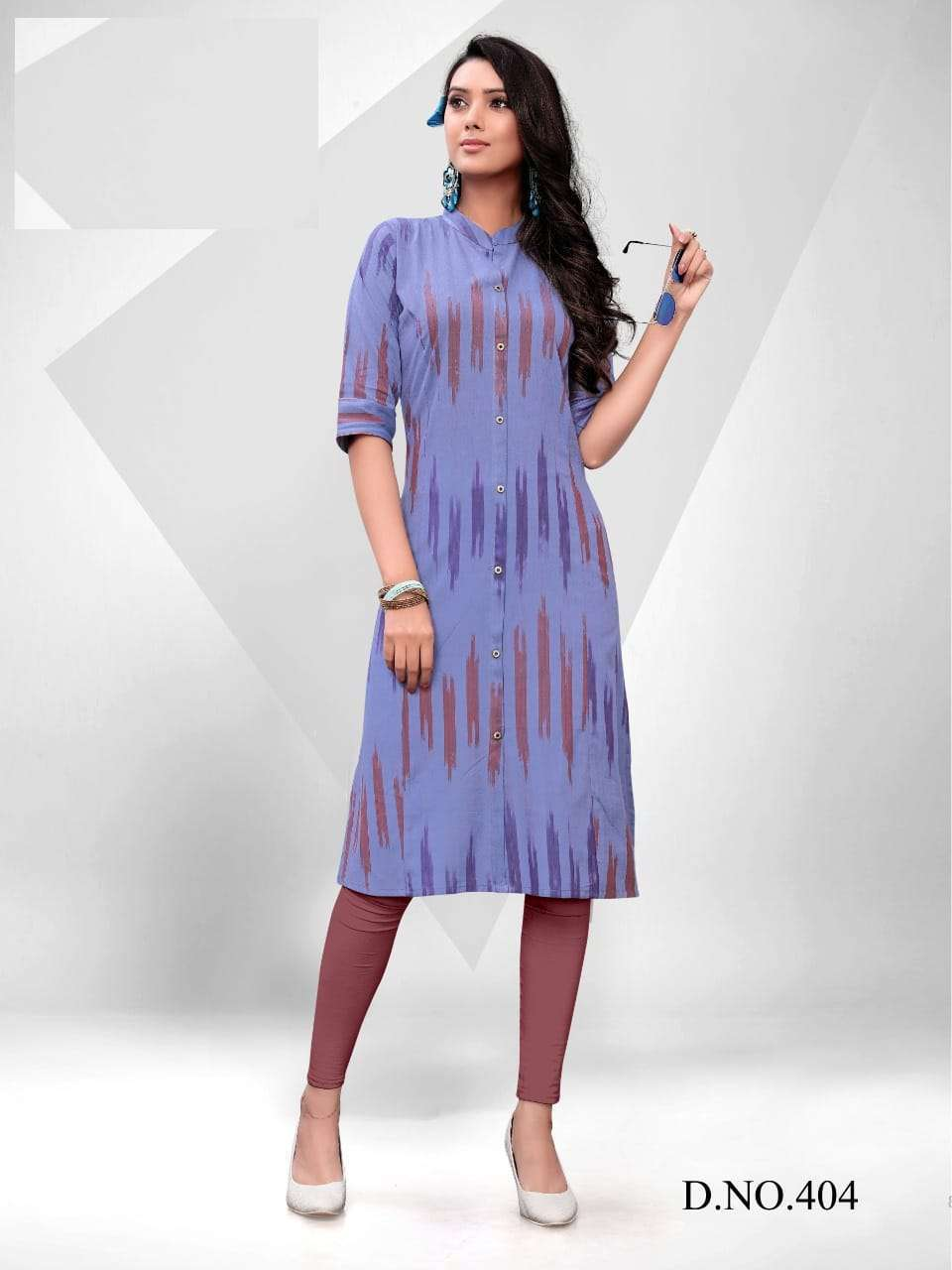Blue Hills Ikkat World Vol 2 Kurti Wholesale Catalog 8 Pcs 6 1 - Blue Hills Ikkat World Vol 2 Kurti Wholesale Catalog 8 Pcs