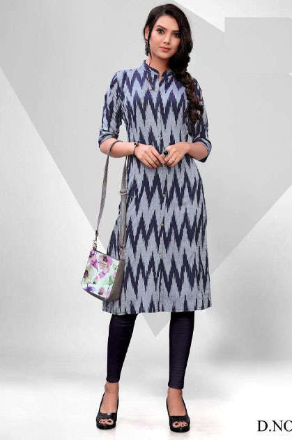 Blue Hills Ikkat World Vol 2 Kurti Wholesale Catalog 8 Pcs - Blue Hills Ikkat World Vol 2 Kurti Wholesale Catalog 8 Pcs
