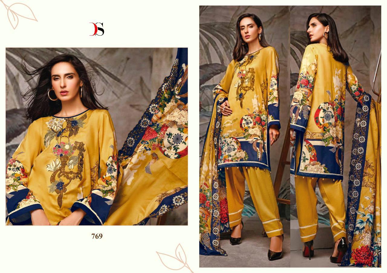 Deepsy Firdous Salwar Suit Wholesale Catalog 10 Pcs 12 - Deepsy Firdous Salwar Suit Wholesale Catalog 10 Pcs