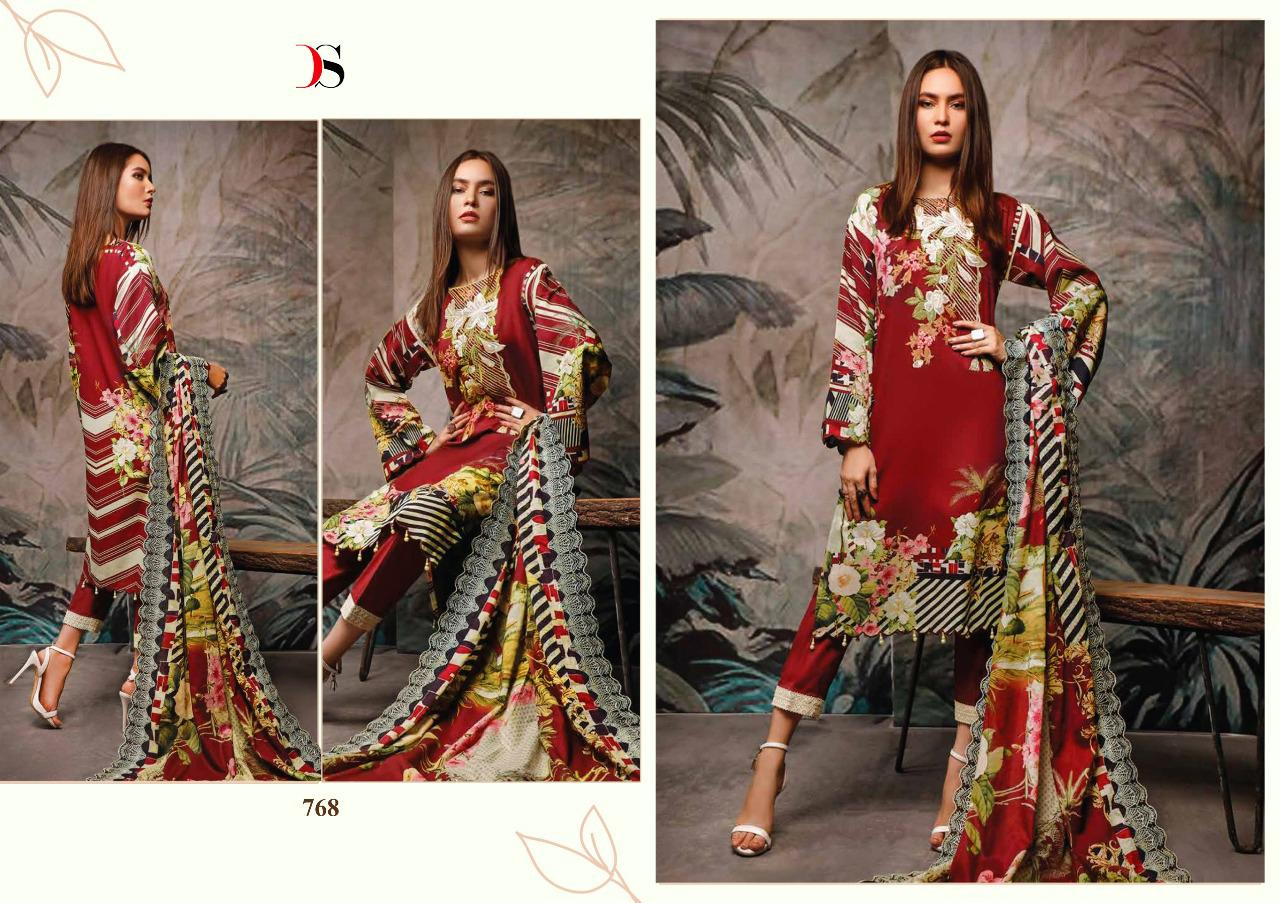 Deepsy Firdous Salwar Suit Wholesale Catalog 10 Pcs 14 - Deepsy Firdous Salwar Suit Wholesale Catalog 10 Pcs