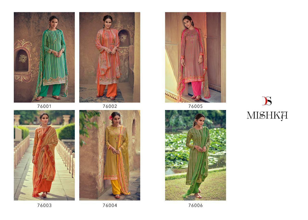 Deepsy Mishka Pashmina Salwar Suit Wholesale Catalog 6 Pcs 13 - Deepsy Mishka Pashmina Salwar Suit Wholesale Catalog 6 Pcs