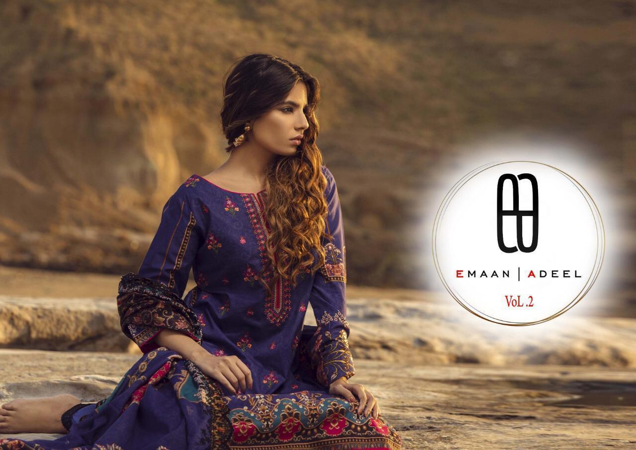 Emaan Adeel Vol 2 Salwar Suit Wholesale Catalog 10 Pcs 1 - Emaan Adeel Vol 2 Salwar Suit Wholesale Catalog 10 Pcs