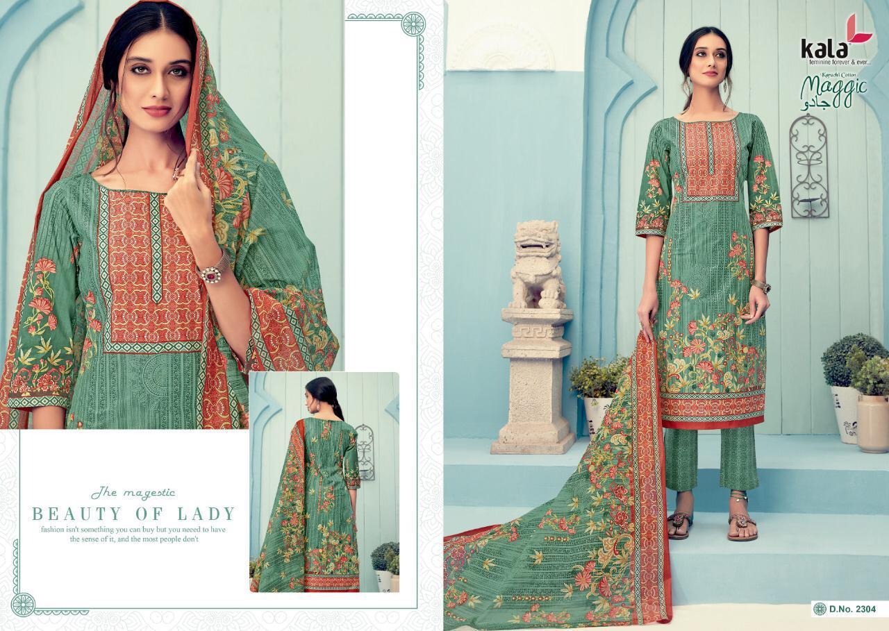 Kala Maggic Vol 11 Salwar Suit Wholesale Catalog 12 Pcs 1 - Kala Maggic Vol 11 Salwar Suit Wholesale Catalog 12 Pcs