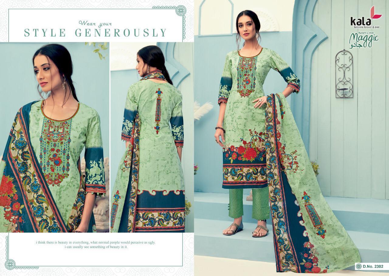 Kala Maggic Vol 11 Salwar Suit Wholesale Catalog 12 Pcs 2 - Kala Maggic Vol 11 Salwar Suit Wholesale Catalog 12 Pcs