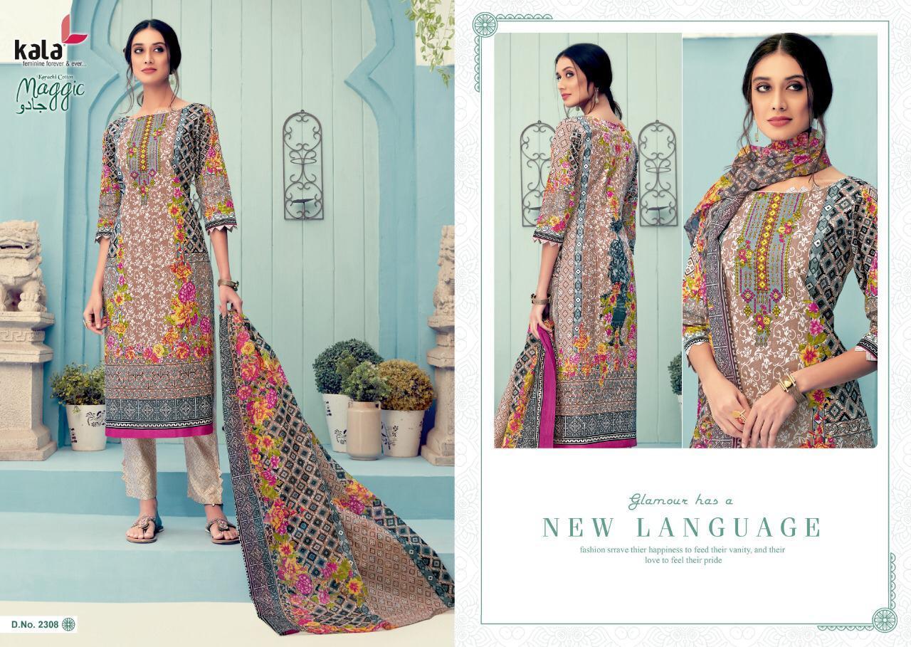 Kala Maggic Vol 11 Salwar Suit Wholesale Catalog 12 Pcs 7 - Kala Maggic Vol 11 Salwar Suit Wholesale Catalog 12 Pcs