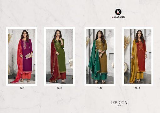 Kalarang Jessica Vol 2 by Kessi Salwar Suit Wholesale Catalog 4 Pcs 5 510x361 - Kalarang Jessica Vol 2 by Kessi Salwar Suit Wholesale Catalog 4 Pcs