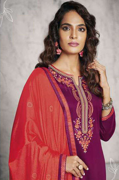 Kalarang Jessica Vol 2 by Kessi Salwar Suit Wholesale Catalog 4 Pcs - Kalarang Jessica Vol 2 by Kessi Salwar Suit Wholesale Catalog 4 Pcs