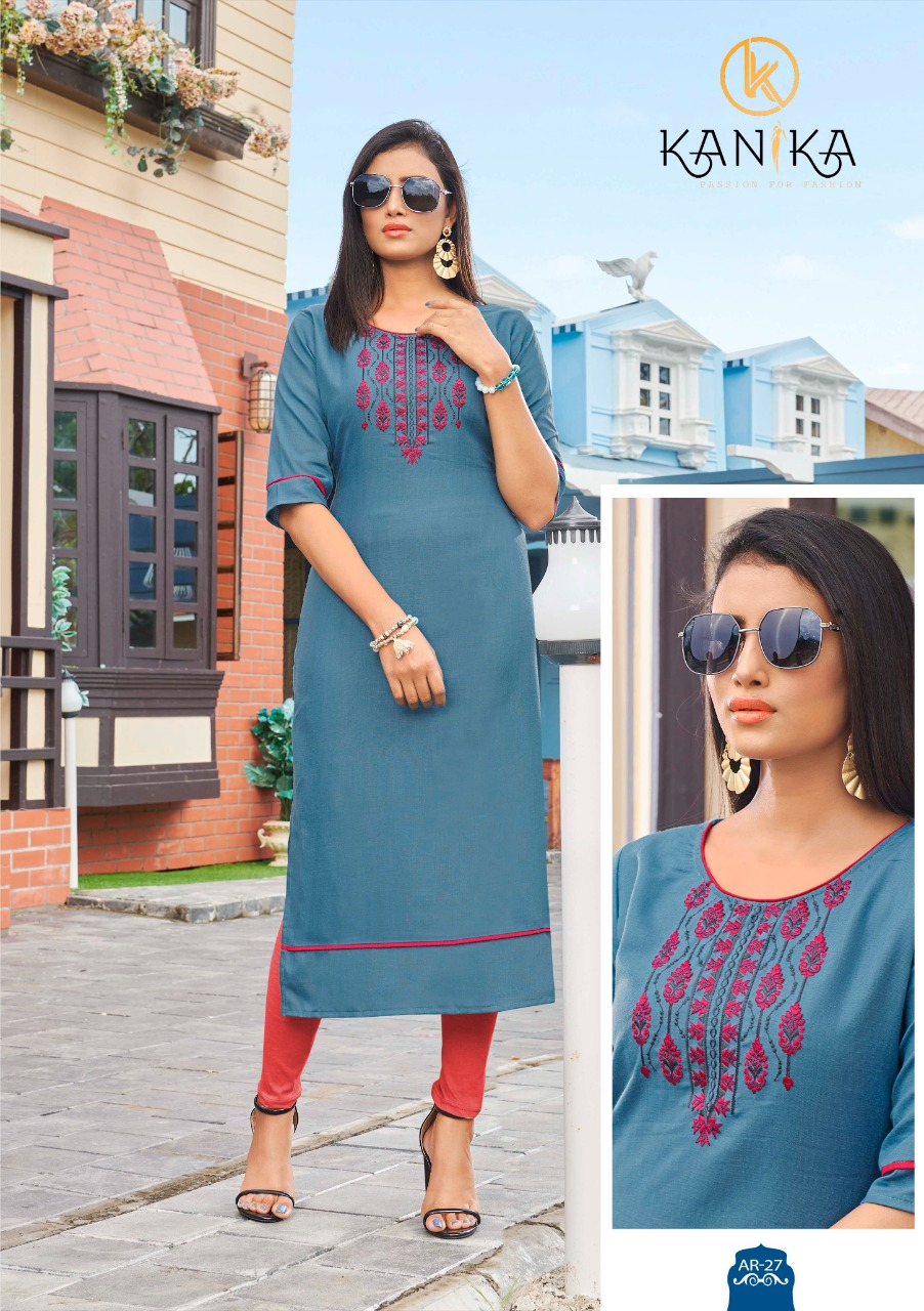 Kanika Anuroop Vol 3 Kurti Wholesale Catalog 10 Pcs 14 - Kanika Anuroop Vol 3 Kurti Wholesale Catalog 10 Pcs