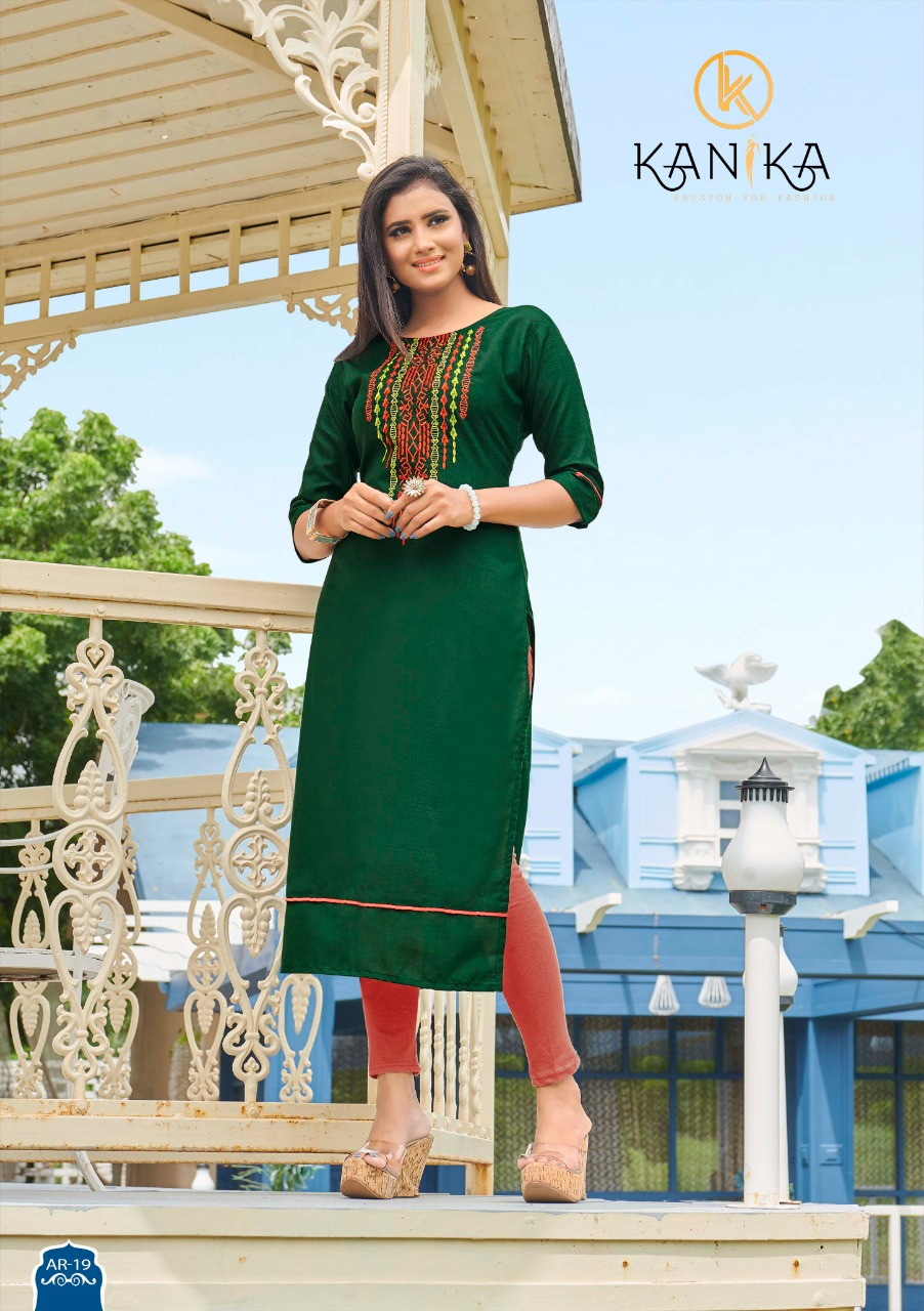 Kanika Anuroop Vol 3 Kurti Wholesale Catalog 10 Pcs 2 - Kanika Anuroop Vol 3 Kurti Wholesale Catalog 10 Pcs