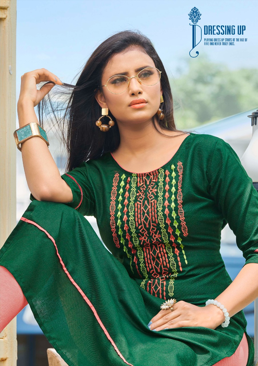 Kanika Anuroop Vol 3 Kurti Wholesale Catalog 10 Pcs 3 - Kanika Anuroop Vol 3 Kurti Wholesale Catalog 10 Pcs