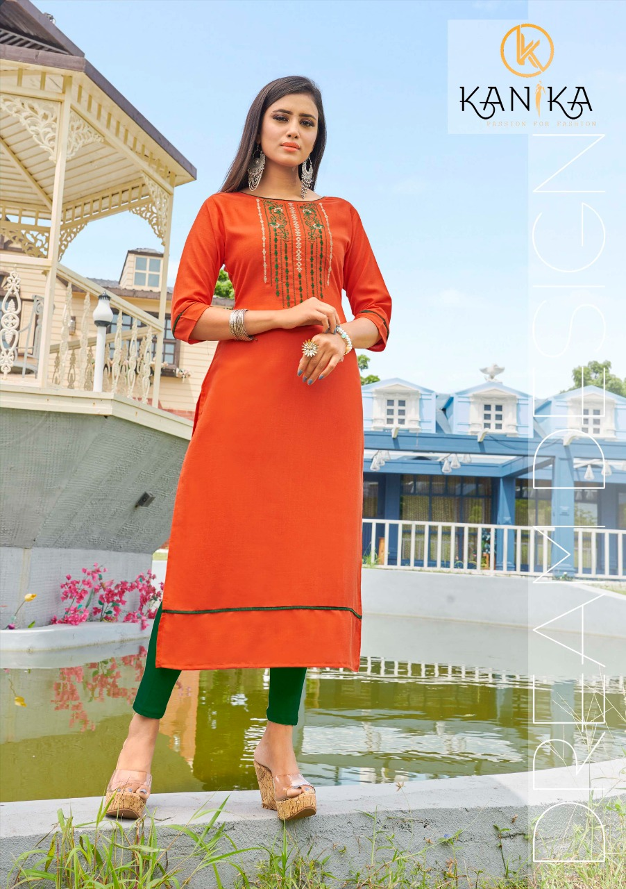 Kanika Anuroop Vol 3 Kurti Wholesale Catalog 10 Pcs 9 - Kanika Anuroop Vol 3 Kurti Wholesale Catalog 10 Pcs