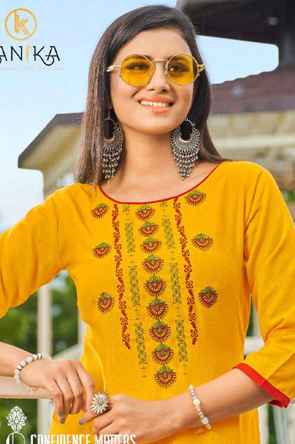 Kanika Anuroop Vol 3 Kurti Wholesale Catalog 10 Pcs - Kanika Anuroop Vol 3 Kurti Wholesale Catalog 10 Pcs