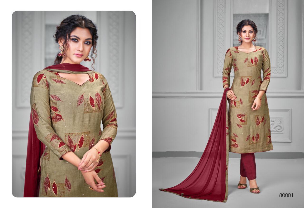 Kapil Trendz Silk to Silk Salwar Suit Wholesale Catalog 7 Pcs 2 - Kapil Trendz Silk to Silk Salwar Suit Wholesale Catalog 7 Pcs