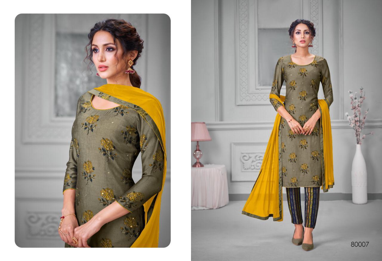 Kapil Trendz Silk to Silk Salwar Suit Wholesale Catalog 7 Pcs 8 - Kapil Trendz Silk to Silk Salwar Suit Wholesale Catalog 7 Pcs