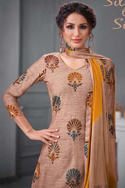 Kapil Trendz Silk to Silk Salwar Suit Wholesale Catalog 7 Pcs