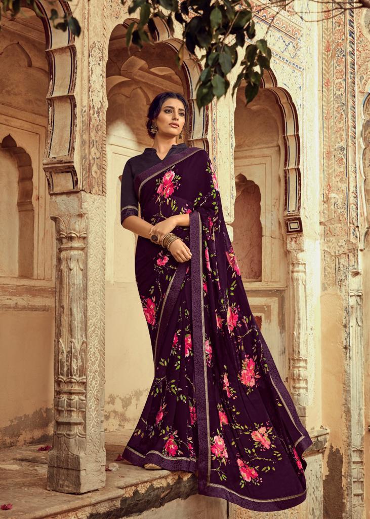 Kashvi Orchid by Lt Fabrics Saree Sari Wholesale Catalog 10 Pcs 13 - Kashvi Orchid by Lt Fabrics Saree Sari Wholesale Catalog 10 Pcs