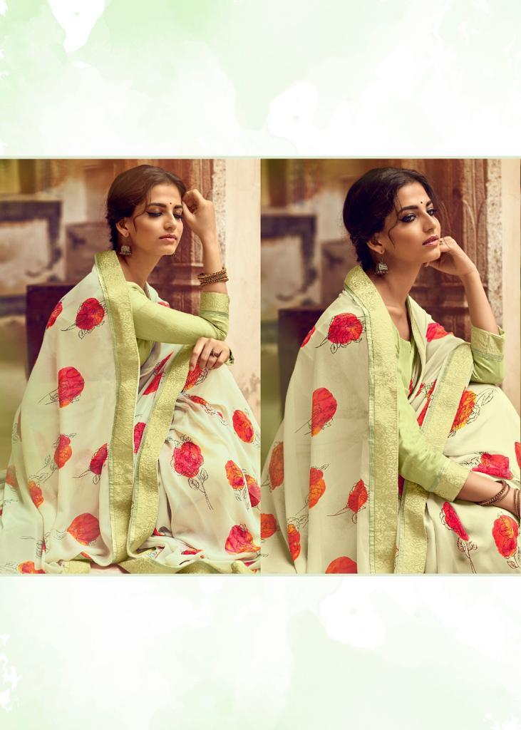 Kashvi Orchid by Lt Fabrics Saree Sari Wholesale Catalog 10 Pcs 18 - Kashvi Orchid by Lt Fabrics Saree Sari Wholesale Catalog 10 Pcs