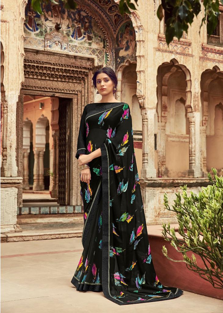 Kashvi Orchid by Lt Fabrics Saree Sari Wholesale Catalog 10 Pcs 19 - Kashvi Orchid by Lt Fabrics Saree Sari Wholesale Catalog 10 Pcs