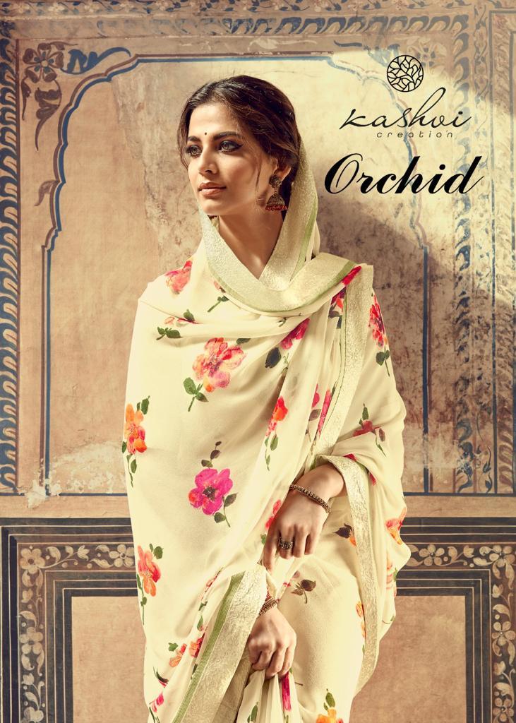 Kashvi Orchid by Lt Fabrics Saree Sari Wholesale Catalog 10 Pcs 22 - Kashvi Orchid by Lt Fabrics Saree Sari Wholesale Catalog 10 Pcs