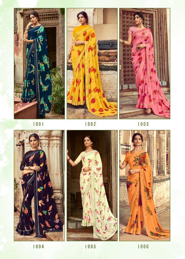 Kashvi Orchid by Lt Fabrics Saree Sari Wholesale Catalog 10 Pcs 23 - Kashvi Orchid by Lt Fabrics Saree Sari Wholesale Catalog 10 Pcs
