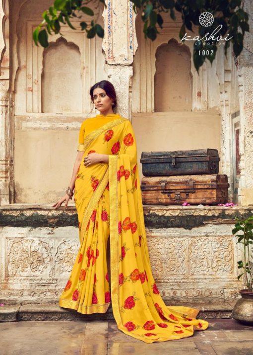 Kashvi Orchid by Lt Fabrics Saree Sari Wholesale Catalog 10 Pcs 5 510x714 - Kashvi Orchid by Lt Fabrics Saree Sari Wholesale Catalog 10 Pcs