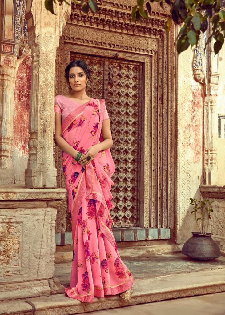 Kashvi Orchid by Lt Fabrics Saree Sari Wholesale Catalog 10 Pcs 8 - Kashvi Orchid by Lt Fabrics Saree Sari Wholesale Catalog 10 Pcs