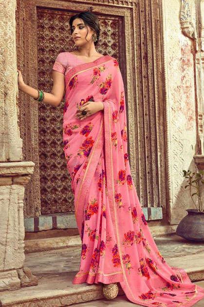 Kashvi Orchid by Lt Fabrics Saree Sari Wholesale Catalog 10 Pcs - Kashvi Orchid by Lt Fabrics Saree Sari Wholesale Catalog 10 Pcs